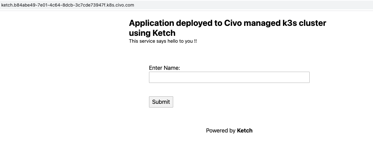 CNAME URL serves the same application