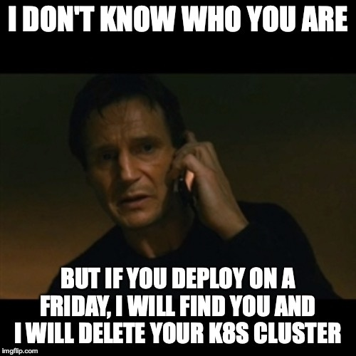 Liam Neeson hates Friday deploys meme