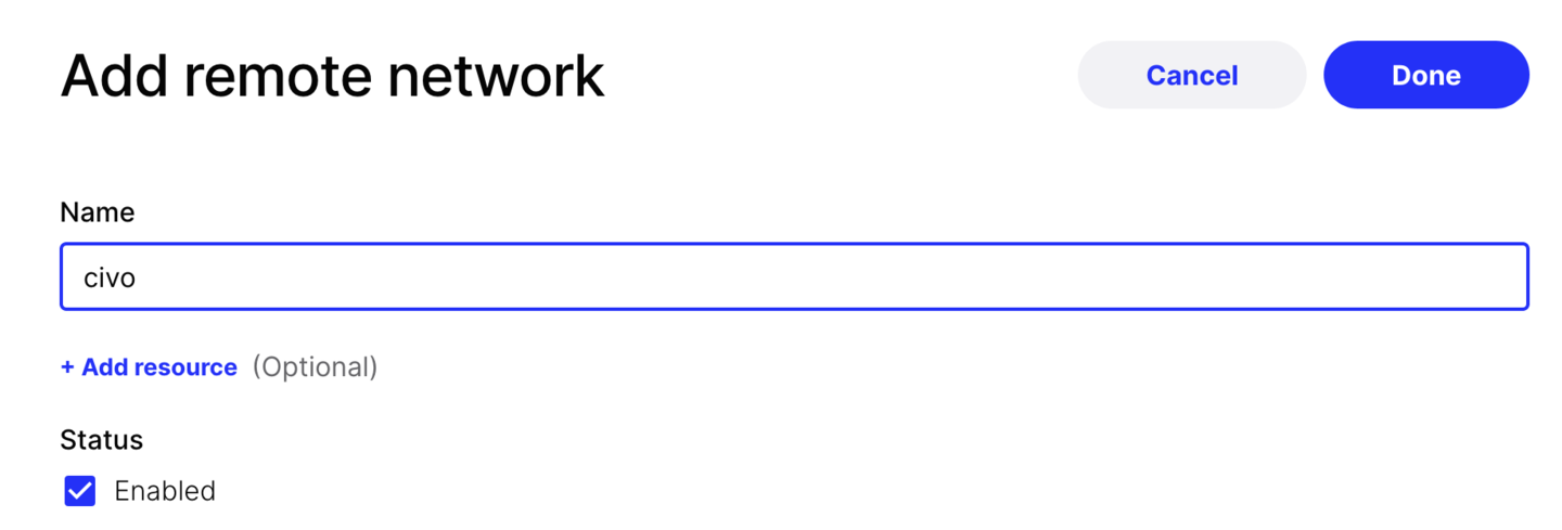Naming your network