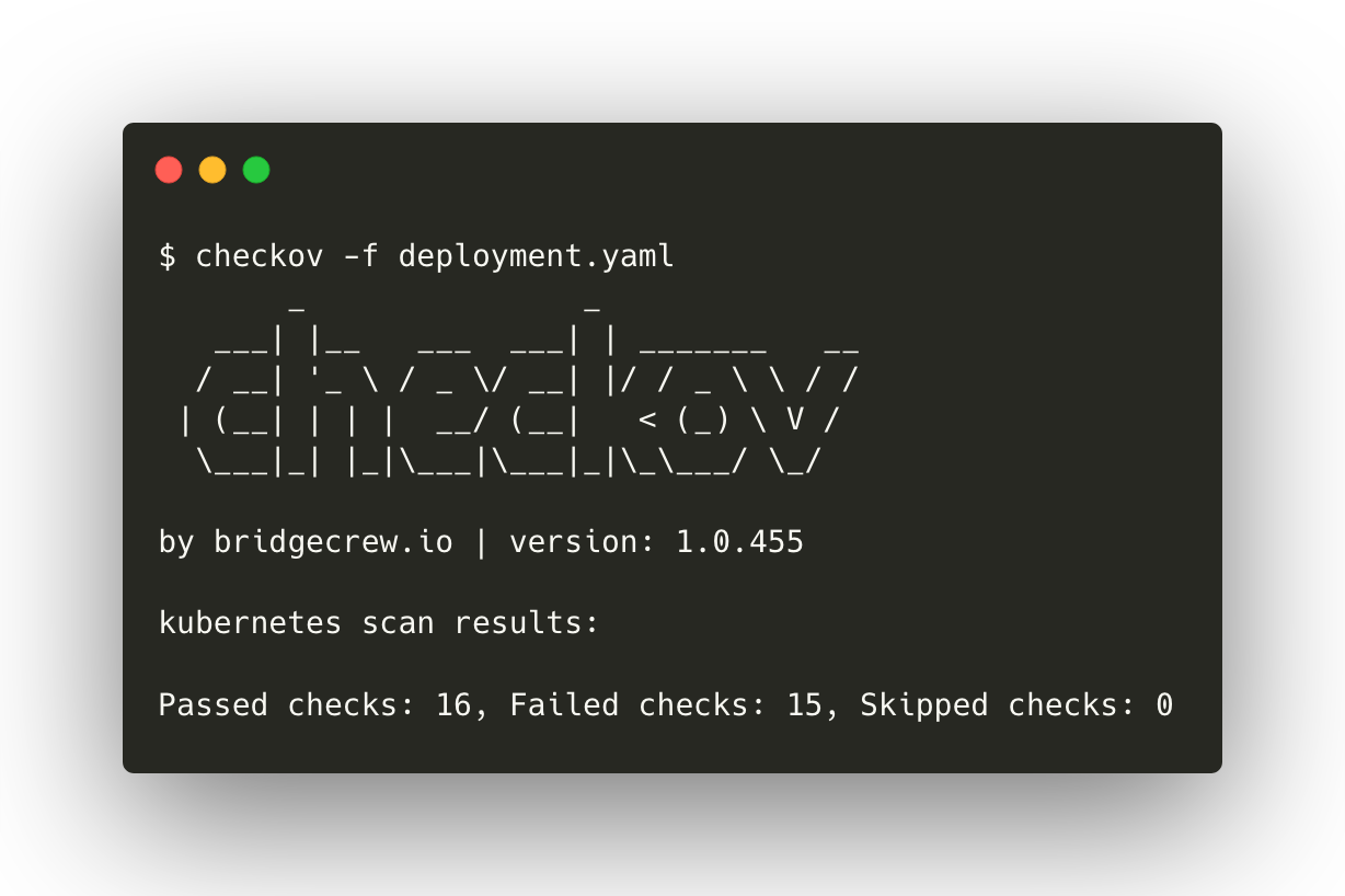 Using Checkov for static analysis of Kubernetes components thumbnail