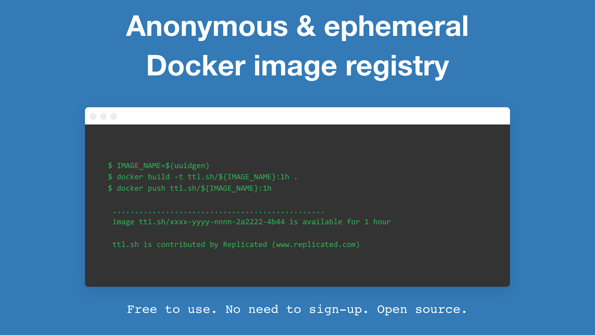 ttl.sh: Your anonymous and ephemeral Docker image registry thumbnail