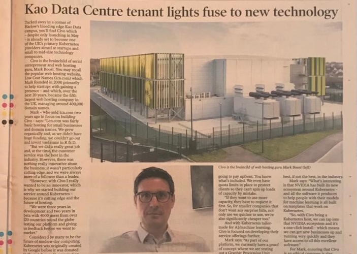 Kao Data Centre tenant lights fuse to new technology - Business Weekly thumbnail